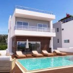 Vardas beach Paphos luxury villas for sale