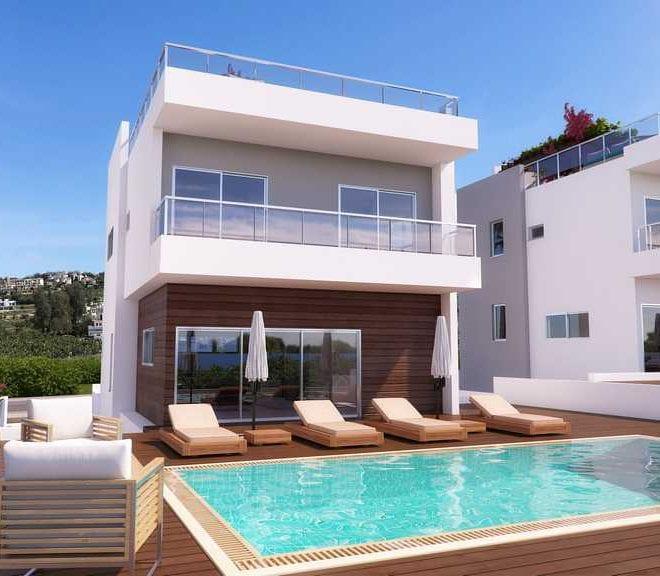 Vardas beach Paphos luxury villas for sale