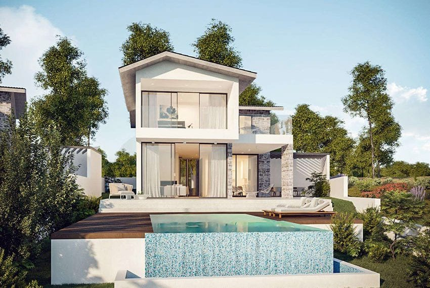 Luxury villas for sale in Peyia with unobstructed sea views02
