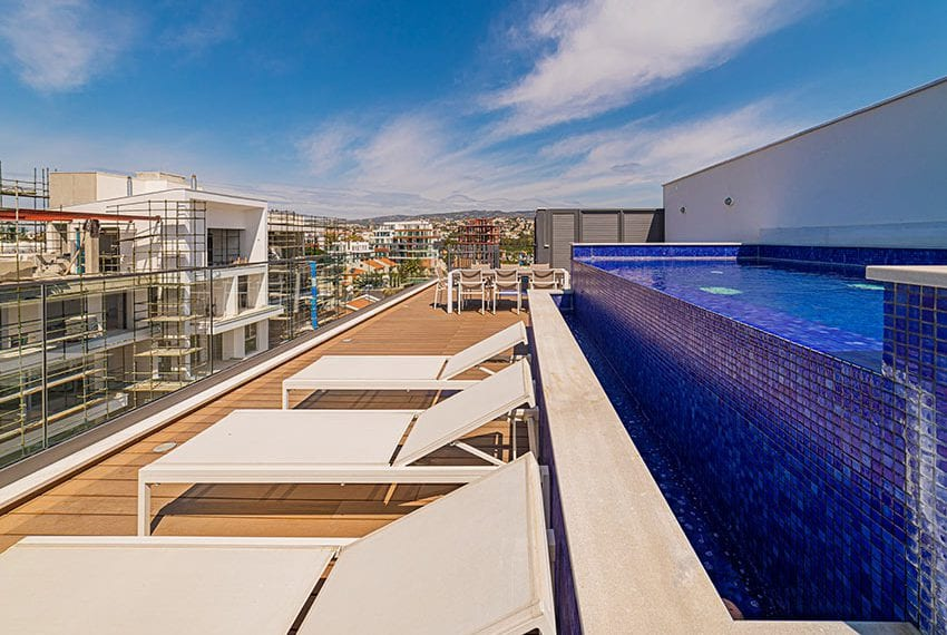 Penthouse with private pool for sale in Limassol34