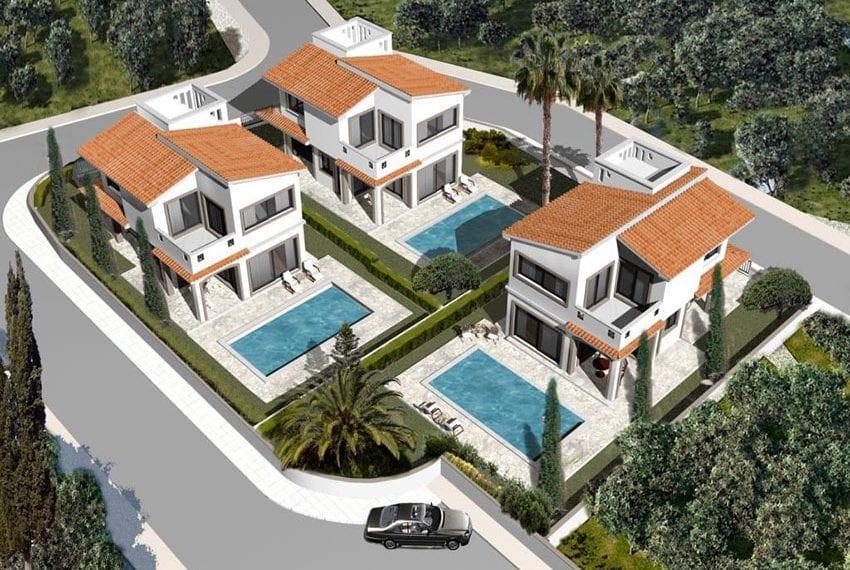 Brand NEW modern villas for sale in Peyia05
