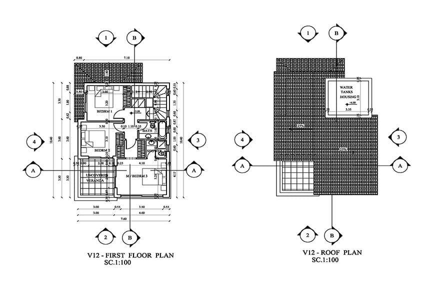 Brand NEW modern villas for sale in Peyia06