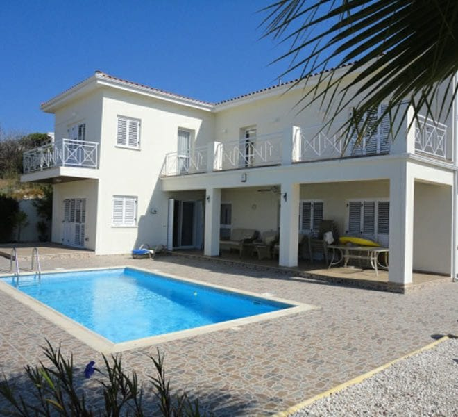 Villa for sale in Pafos with panoramic sea views