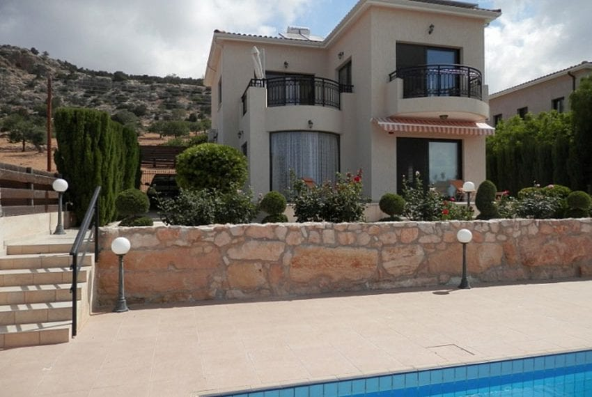 For sale villa with panoramic sea views Peyia10