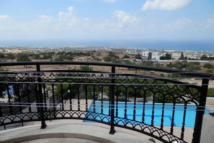 For sale villa with panoramic sea views Peyia20