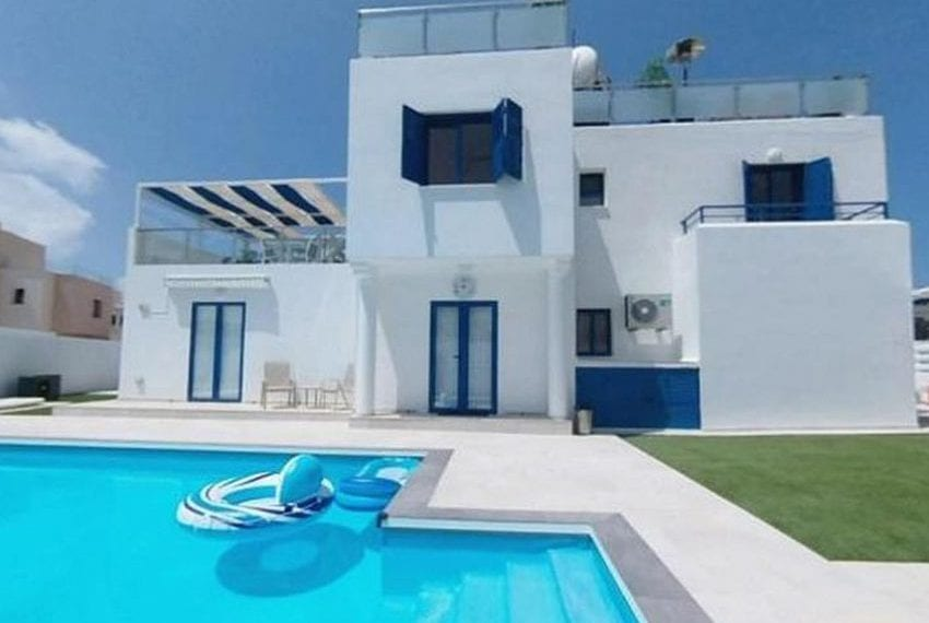 Renovated villa for sale near beach Paphos