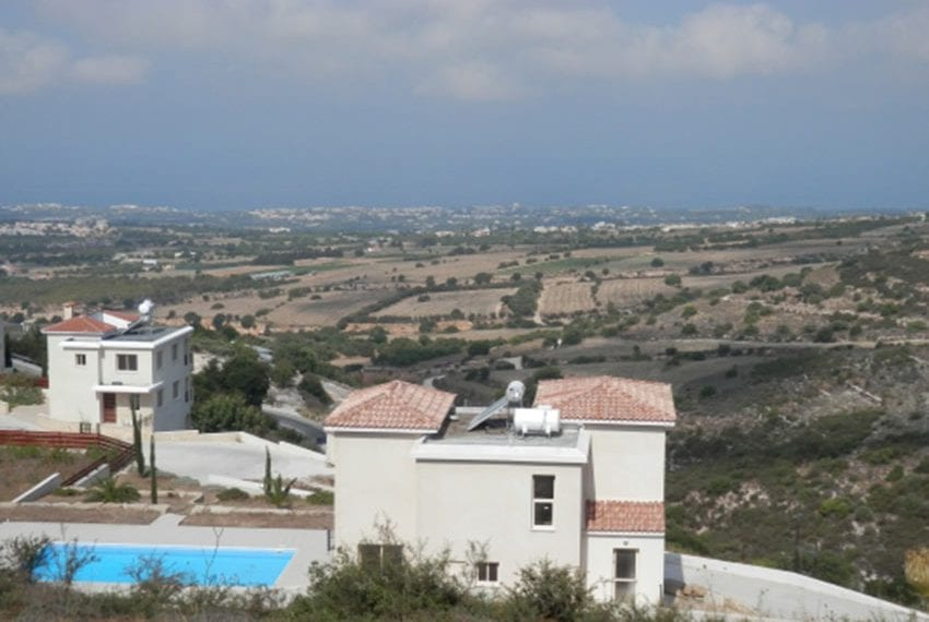 Villa for sale with panoramic views in Tsada Cyprus