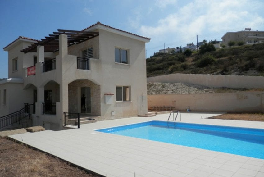 Villa for sale with panoramic views in Tsada Cyprus14