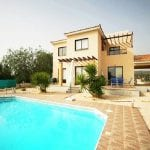 Detached 4 bed villa for sale Secret Valley Paphos