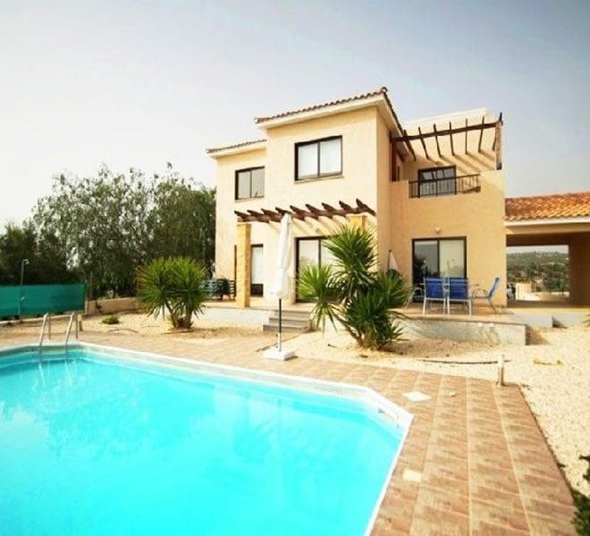 Detached 4 bed villa for sale Secret Valley Paphos