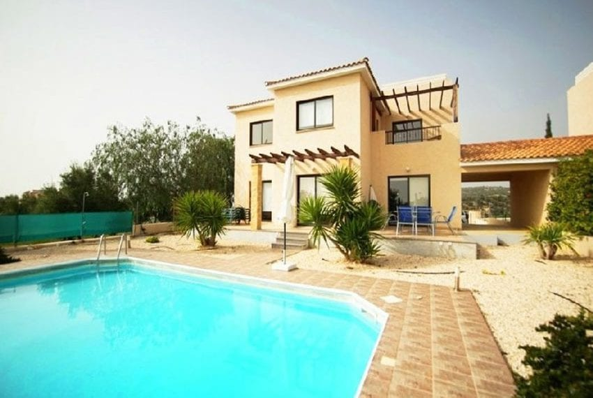 Detached 4 bed villa for sale Secret valley Paphos01