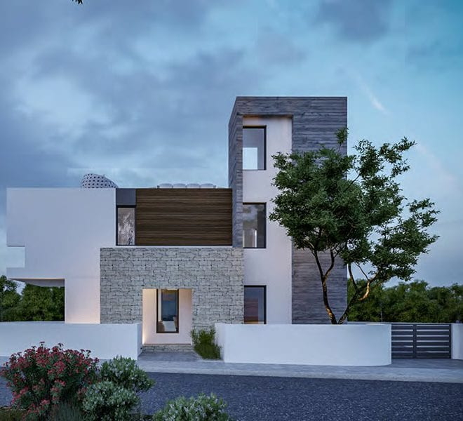 Modern 4 bed villa for sale in Konia Cyprus