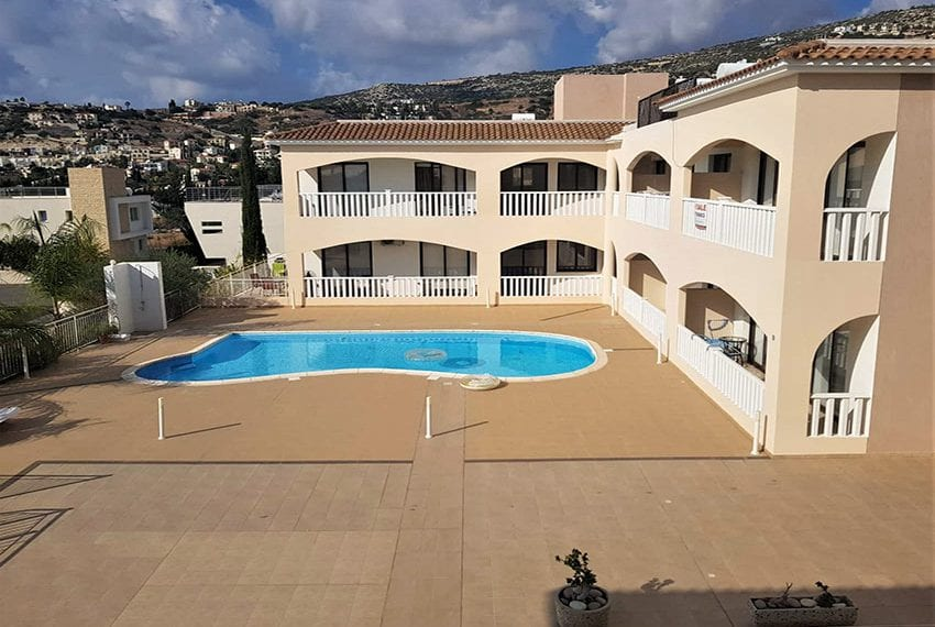 Top floor apartment for sale in Peyia Cyprus