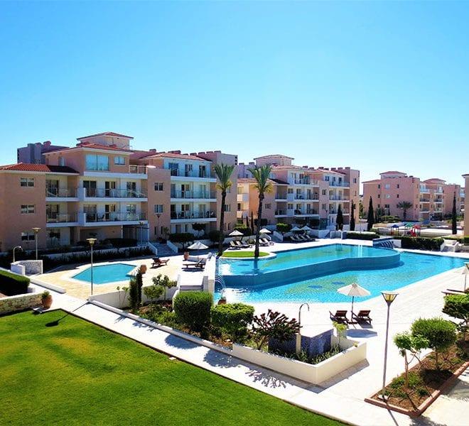 Elysia Park Paphos apartments for sale