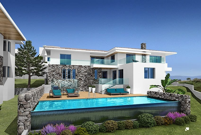 Luxury villas for sale in Limassol with private pool and sea views28