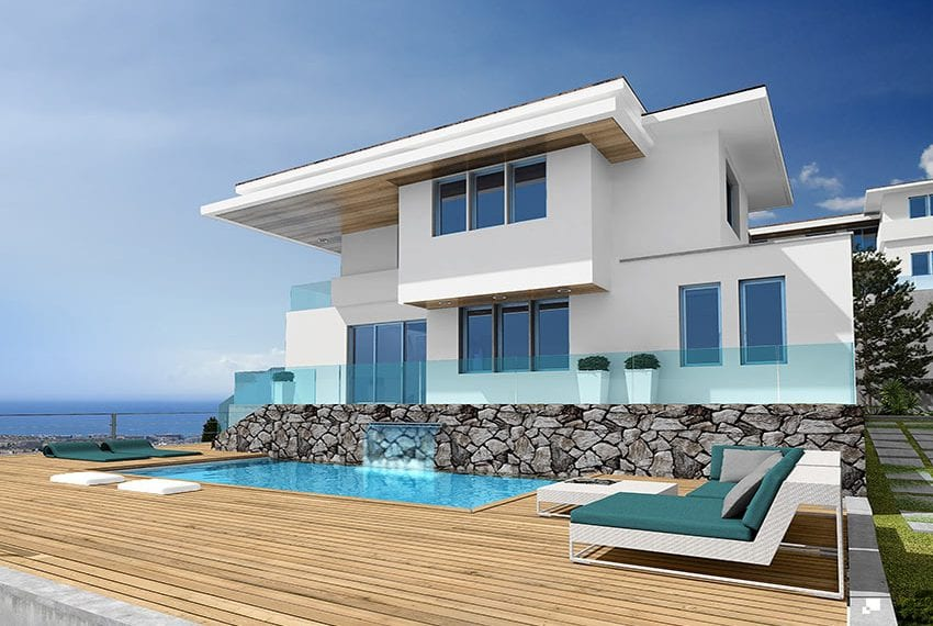 Luxury villas for sale in Limassol with private pool and sea views25