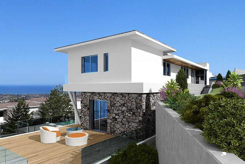 Luxury villas for sale in Limassol with private pool and sea views24
