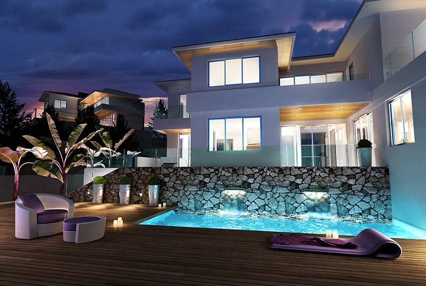 Luxury villas for sale in Limassol with private pool and sea views19