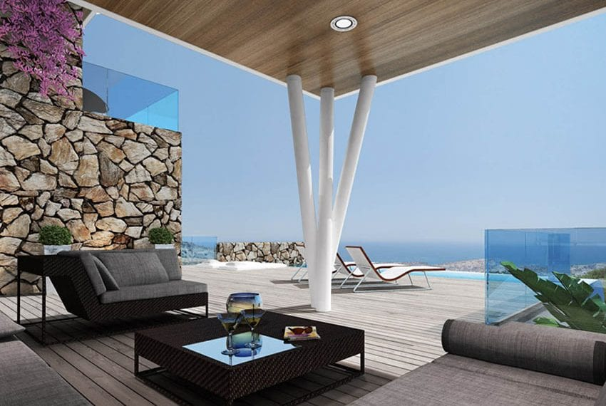 Luxury villas for sale in Limassol with private pool and sea views12