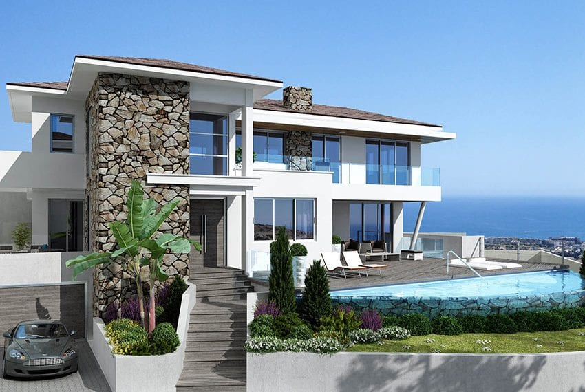 Luxury villas for sale in Limassol with private pool and sea views04