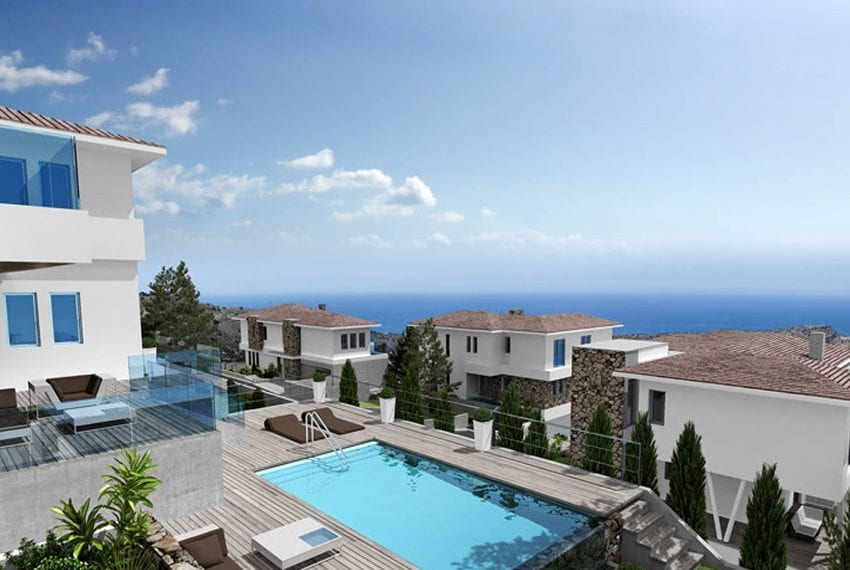 Luxury villas for sale in Limassol with private pool and sea views03