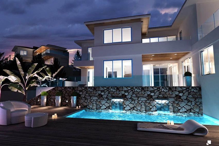 Luxury villas for sale in Limassol with private pool and sea views02