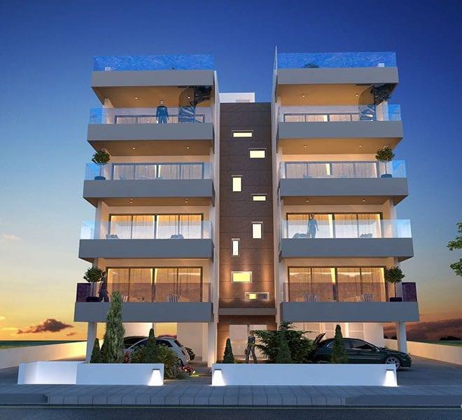 2 bed apartment for sale in Larnaka Faneromeni area