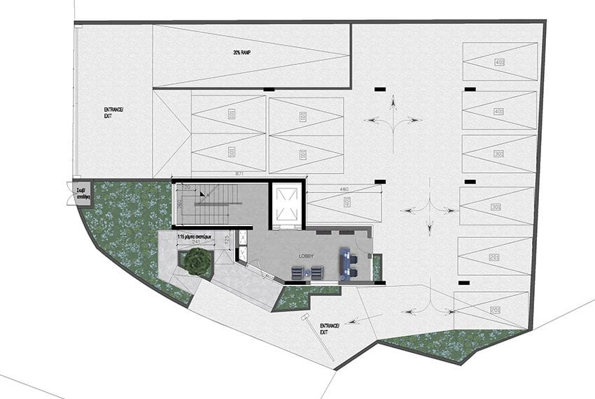 Modern commercial building for sale in Limassol21