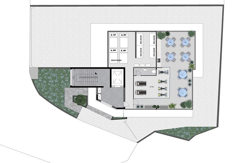 Modern commercial building for sale in Limassol22
