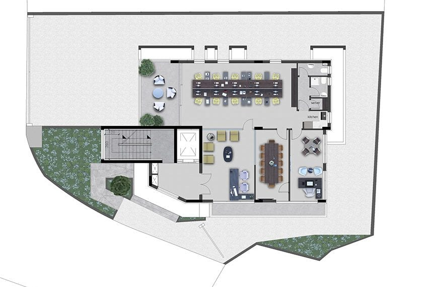 Modern commercial building for sale in Limassol25