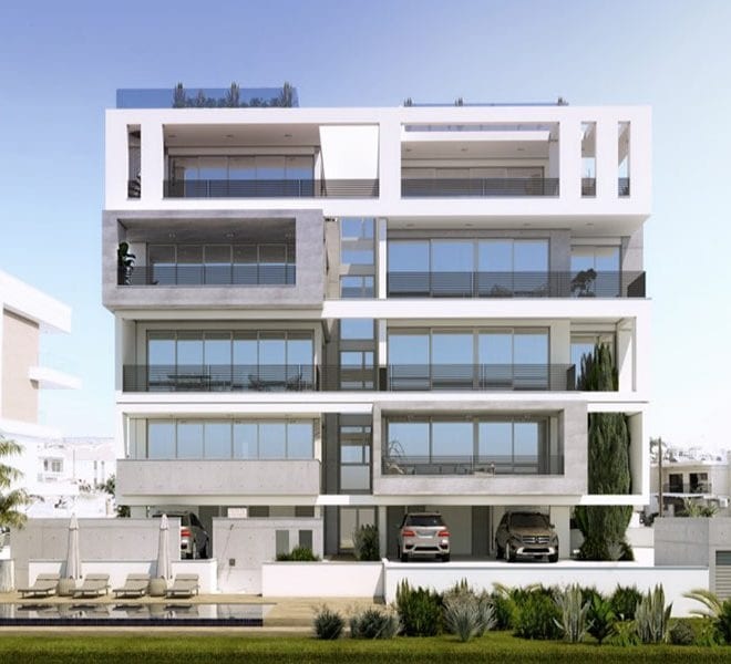 Modern apartments for sale in Limassol Cyprus