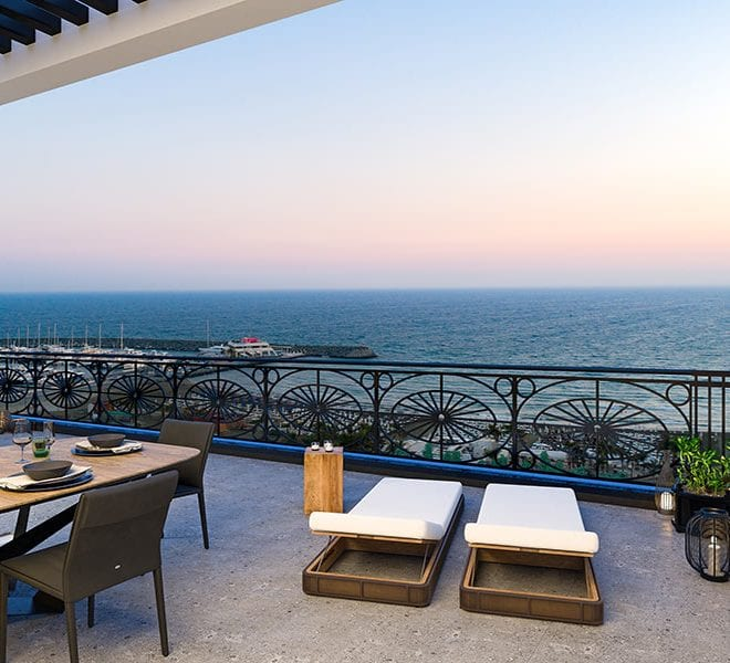 Luxury beach front apartments for sale Limassol Cyprus