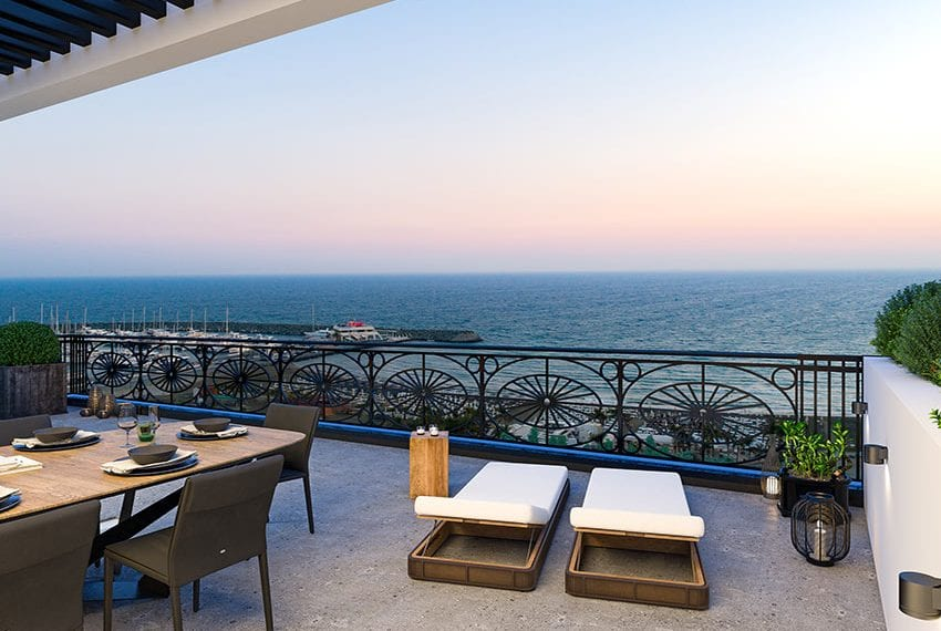 Luxury beach front apartments for sale Limassol Cyprus11