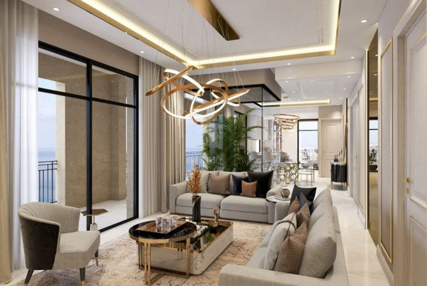 Luxury apartment for sale near sandy beach in Limassol 05