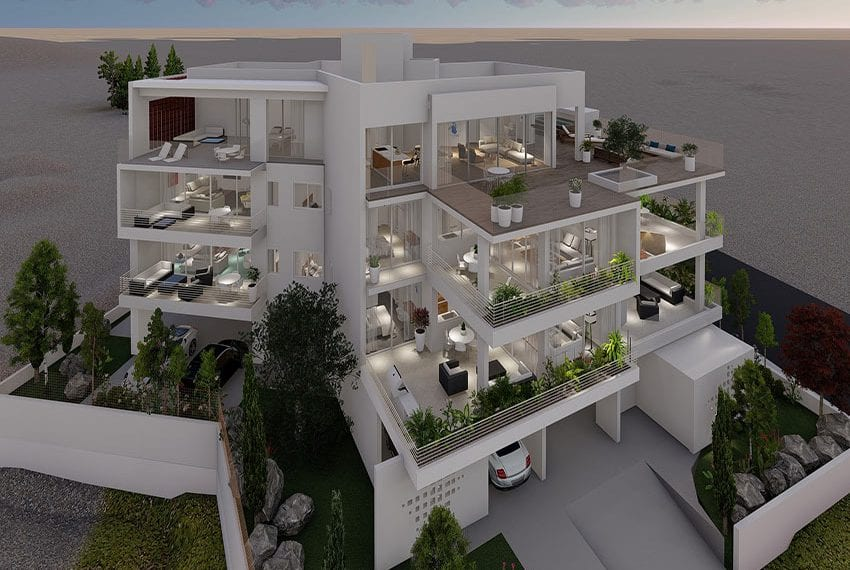 New residences for sale in Konia-Paphos, Cyprus05