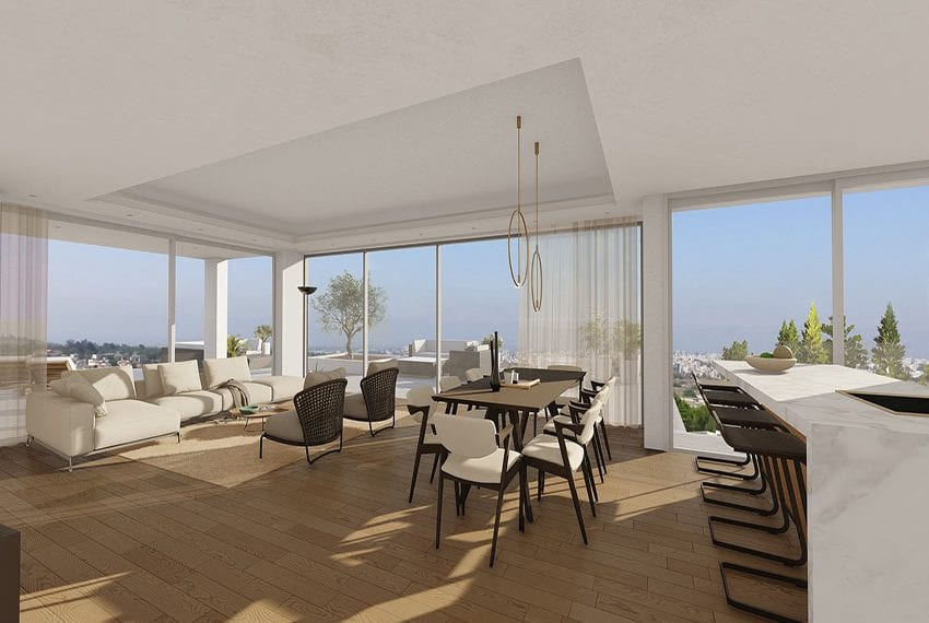New residences for sale in Konia-Paphos, Cyprus09