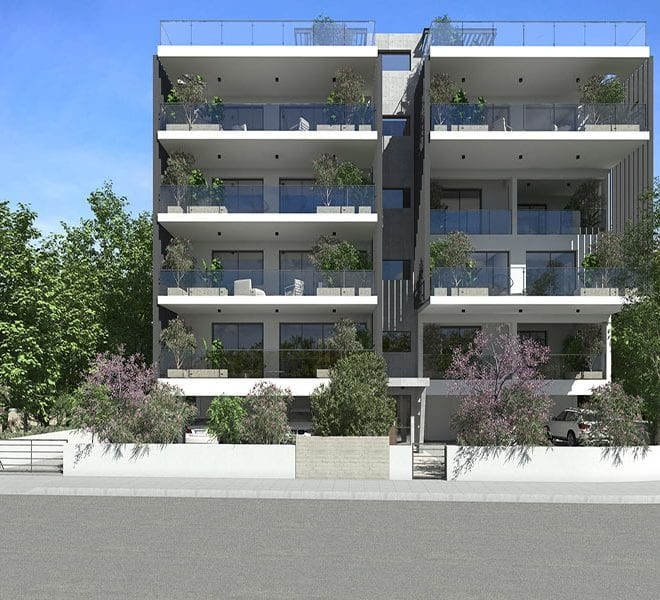 Brand new 2 bedroom apartments for sale in Paphos