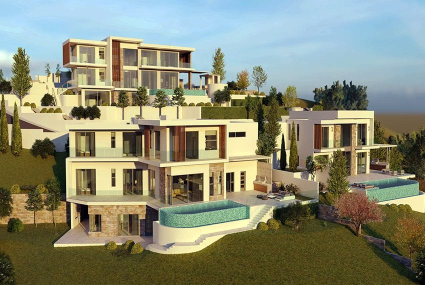 Luxury villas for sale in Paphos, Tala hills01