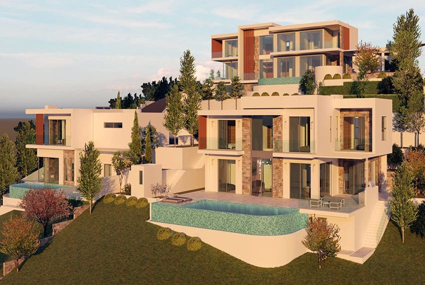 Luxury villas for sale in Paphos, Tala hills02