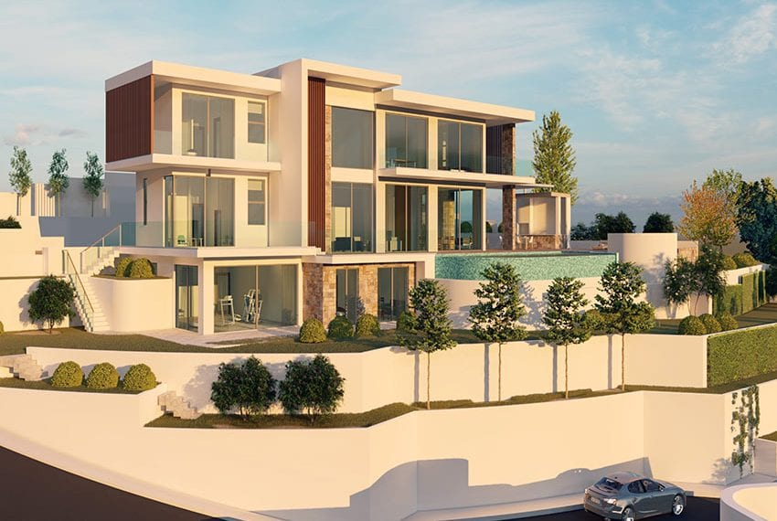 Luxury villas for sale in Paphos, Tala hills04