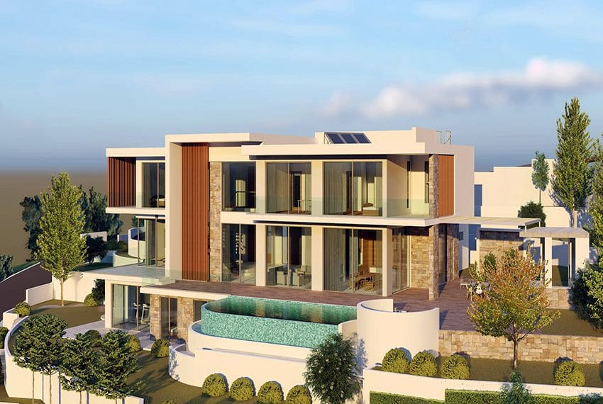 Luxury villas for sale in Paphos, Tala hills05