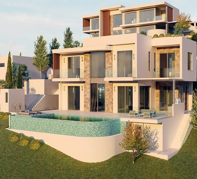 Luxury villas for sale in Paphos, Tala hills