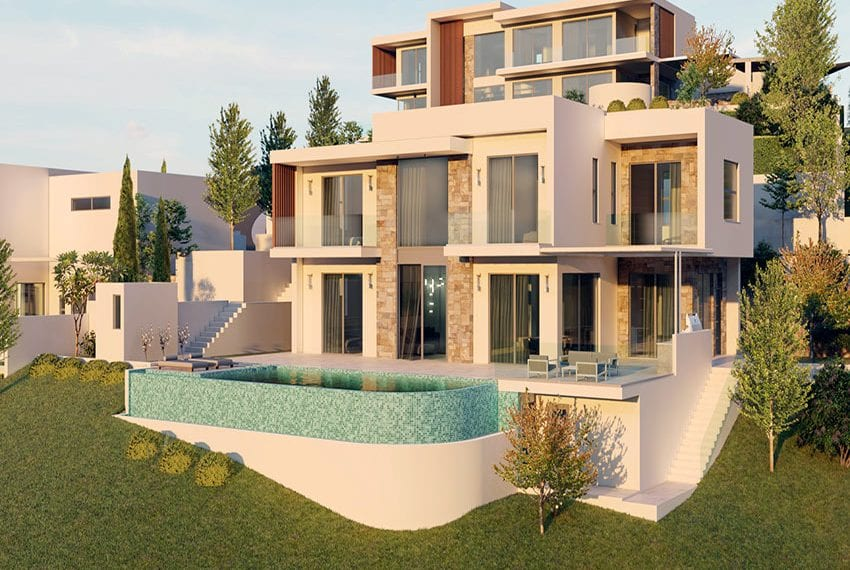 Luxury villas for sale in Paphos, Tala hills06