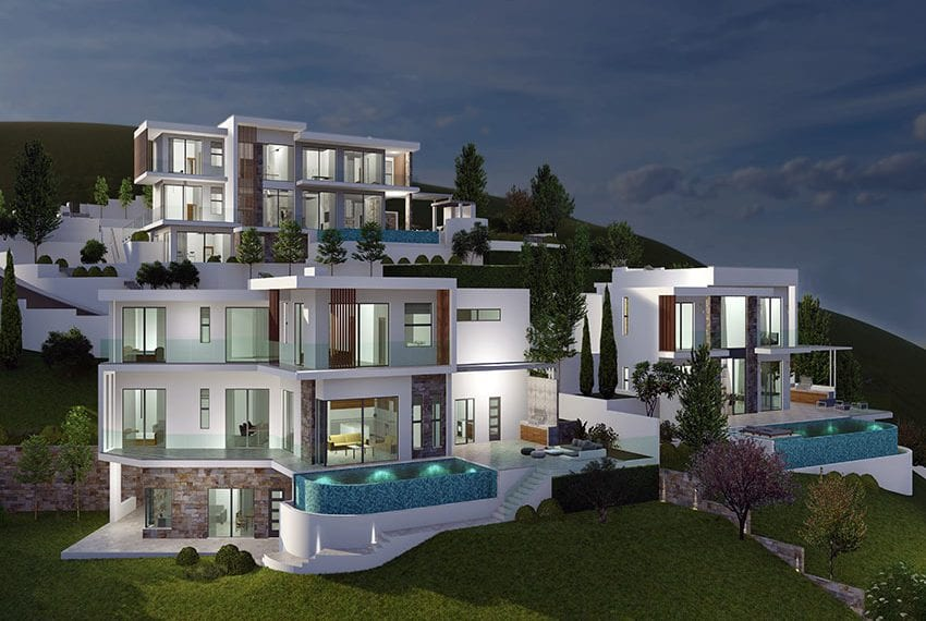 Luxury villas for sale in Paphos, Tala hills11