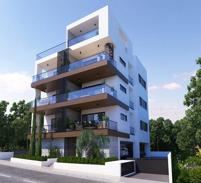 Modern city apartments for sale in Paphos Cyprus