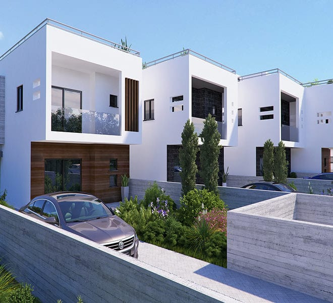 Town houses for sale in Cyprus, YEROSKIPOU-Paphos