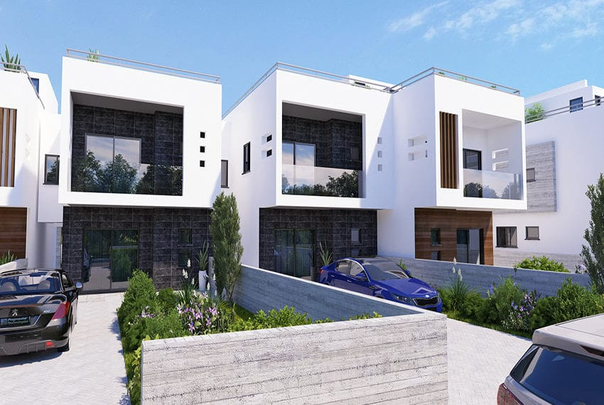 Town houses for sale in Cyprus, YEROSKIPOU-Paphos01