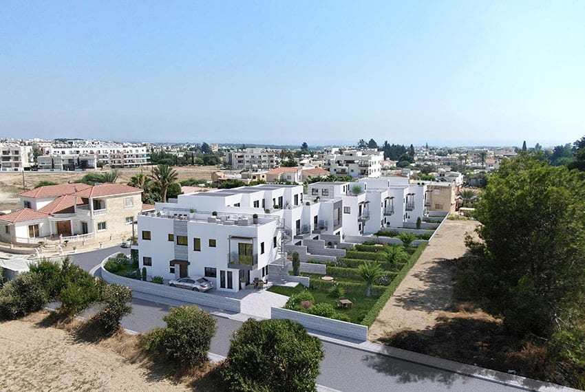 Town houses for sale in Cyprus, YEROSKIPOU-Paphos03