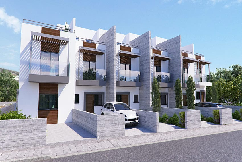 Town houses for sale in Cyprus, YEROSKIPOU-Paphos07