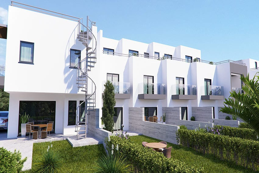 Town houses for sale in Cyprus, YEROSKIPOU-Paphos09